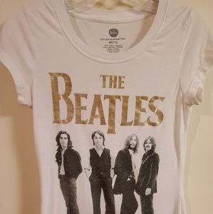 The Beatles Womens band tee sz M.